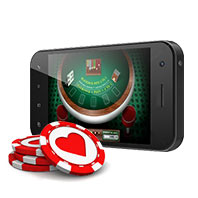 Play blackjack on your iPhone