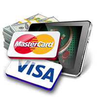 Prepaid Visa and Mastercard Blackjack Deposit