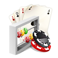 Online Blackjack number of decks