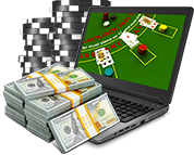 Online blackjack deposits icon